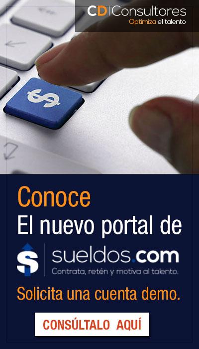 Conoce el nuevo portal de Sueldos.com